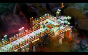 In-game style of Bastion.