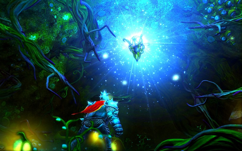 The Trine claims you in Trine 2.